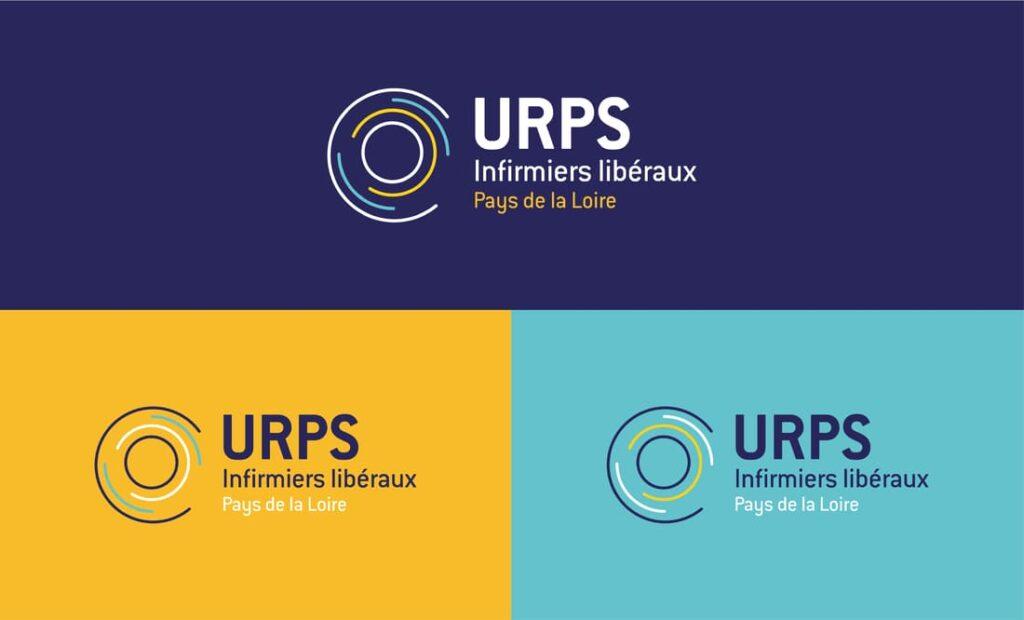 Charte graphique logo URPS Infirmiers des Pays de la Loire Digisanté