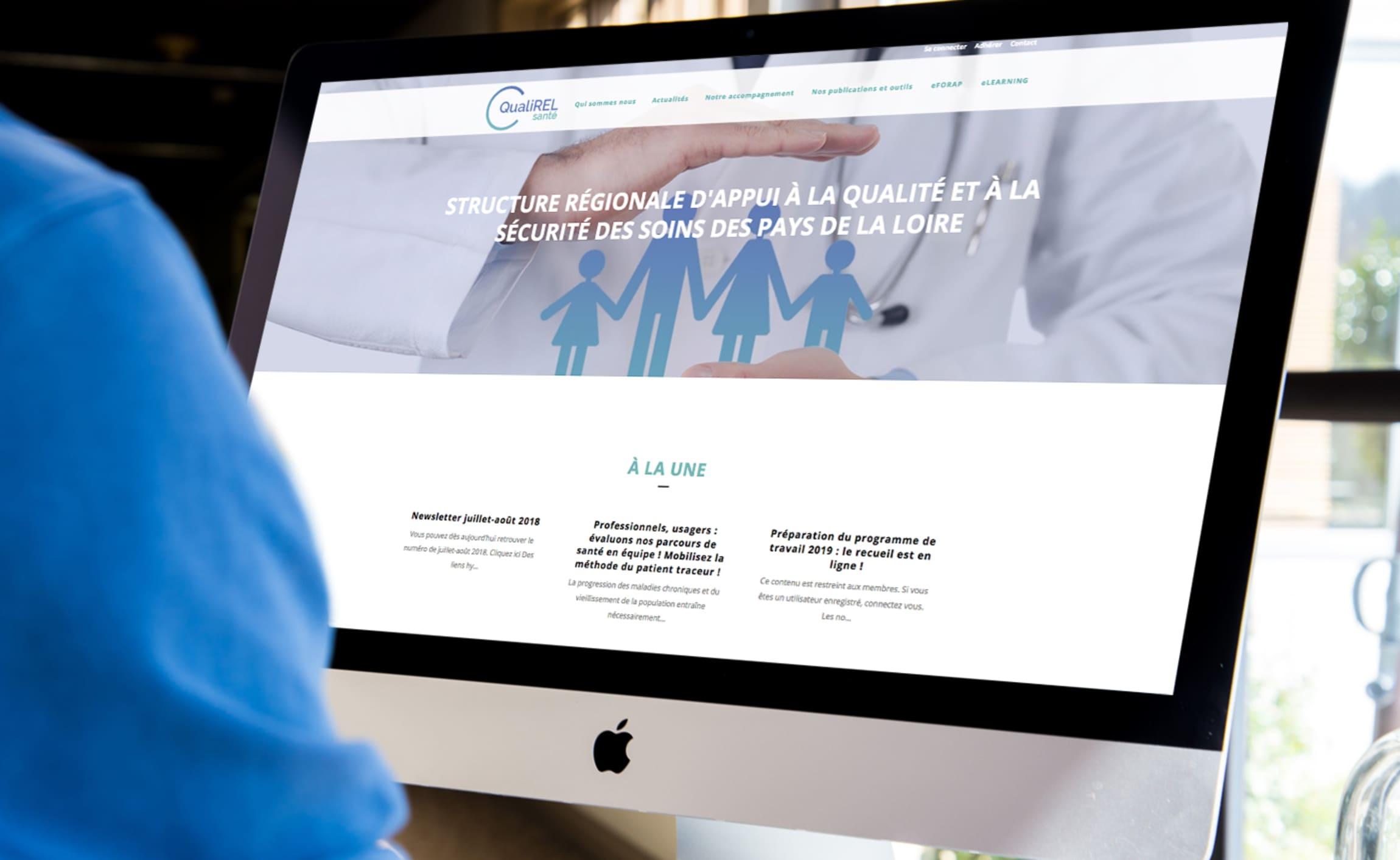 Présentation Site Qualirel Santé Digisanté