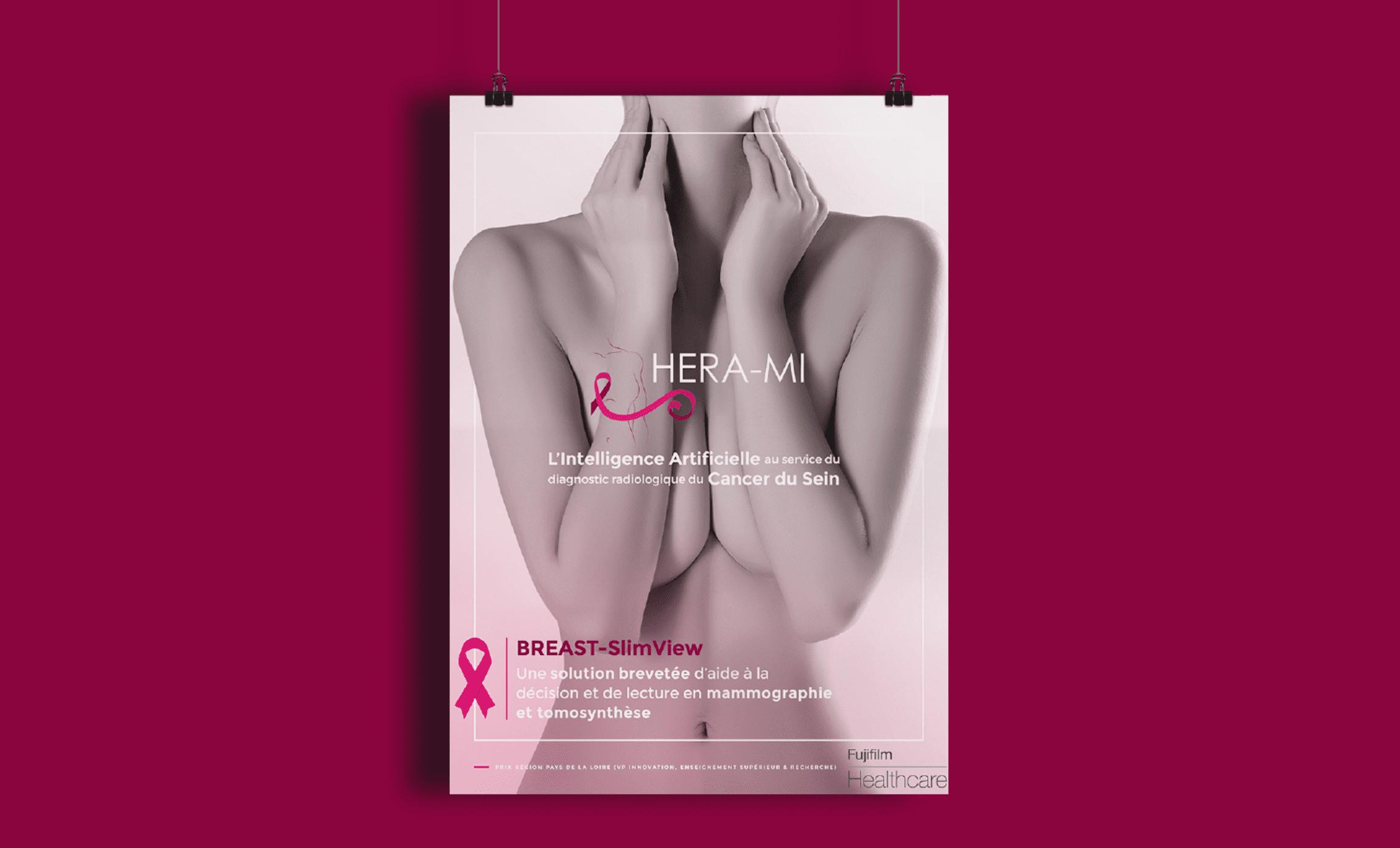 Affiche Hera mi dépistage cancer du sein mammographie Digisanté
