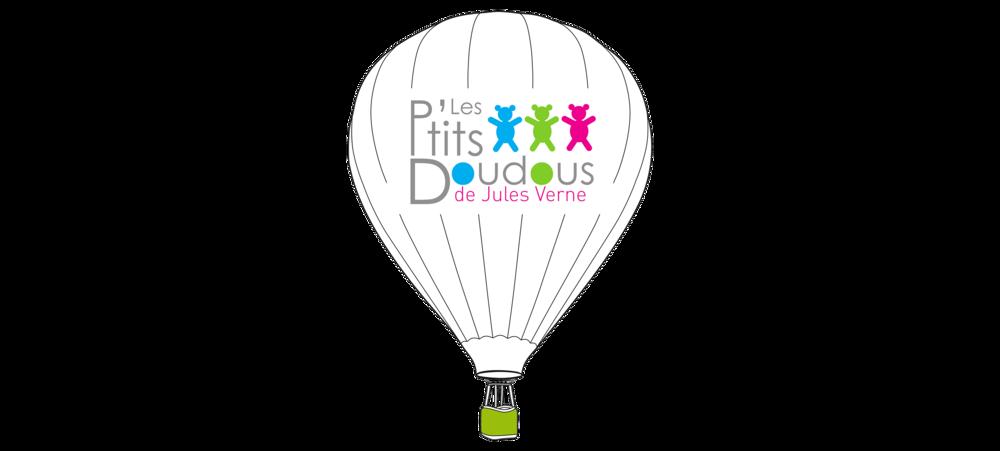Logo Les p'tits doudous de Jules Vernes