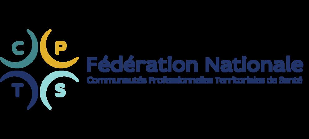 Logo FCPTS Fédération Nationale Communautés Professionnelles Territoriales de Santé
