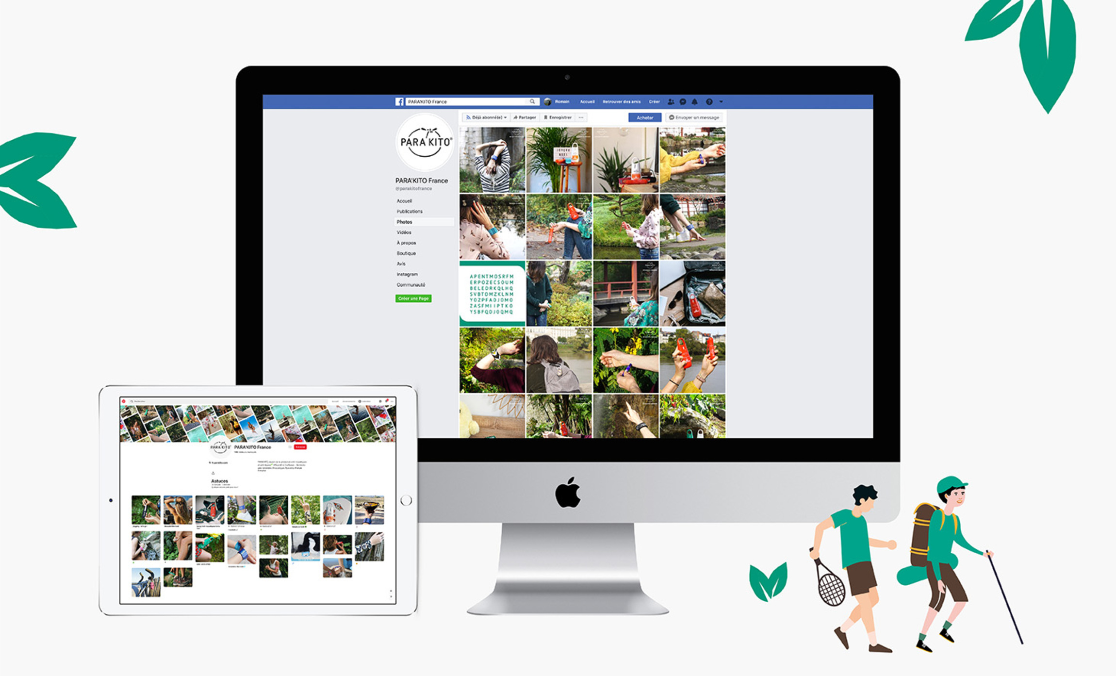 Publication réseaux sociaux Para'kito Digisanté