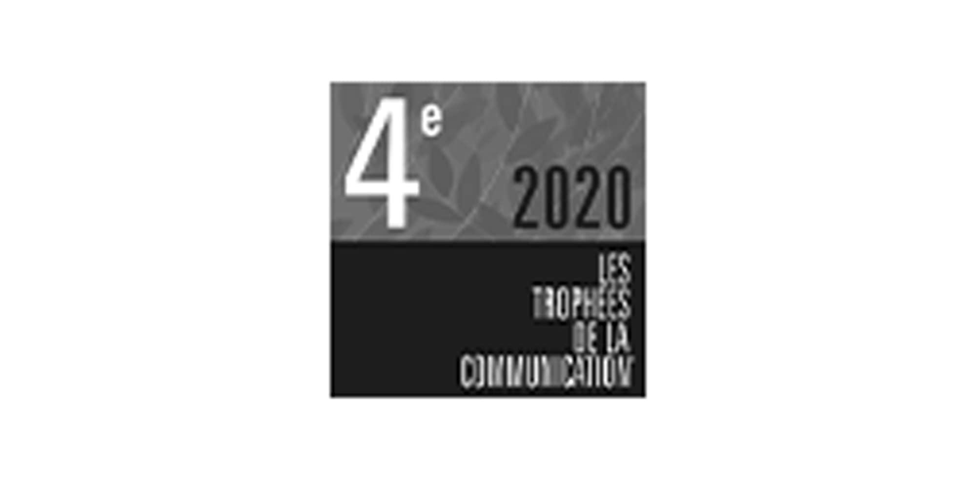 Logo trophée communication 4ème