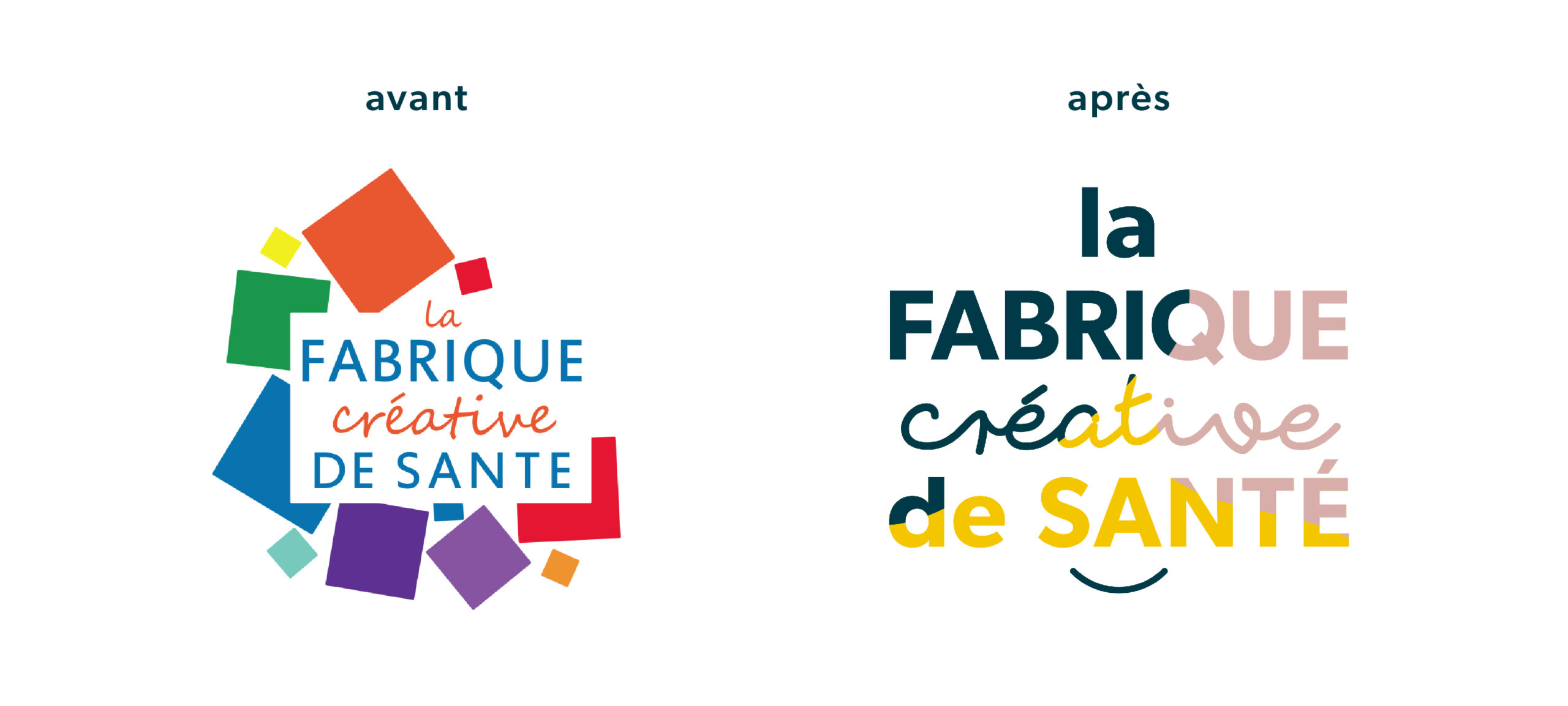 Changement de Logo Fabrique creative santé Digisanté